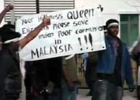 Watch: Malaysia votes, ethnic Indians protest