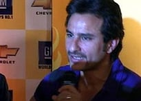 Saif Ali Khan reveals his dour side