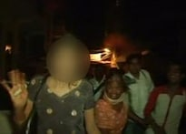 Rape victim thrashed by irate mob