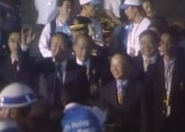 Olympic torch arrives in Thailand amid tight security
