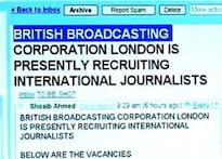 'Job offer' from BBC in your mailbox? Beware!