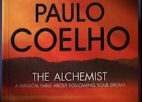 Stage set for Coelho's book, <i>The Alchemist</i>