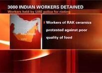 3,000 Indian workers held in UAE for rioting