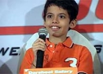 Darsheel Safary sure knows how to sell his brand