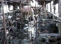 Orissa: Protestors defy curfew, damage churches
