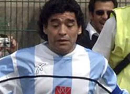 Maradona dismissive of critics, eager to coach