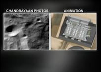 Watch: Chandrayaan's first video of moon terrain