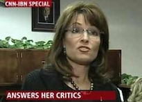 Back in office, Sarah Palin lashes at partymen