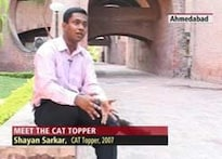 CAT 2007 topper reveals his winning strategy