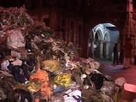 Upset NCP leader dumps truckload of garbage before BMC