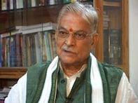MM Joshi files nomination papers from Varanasi