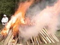 Britain refuses to legalise open funeral pyres