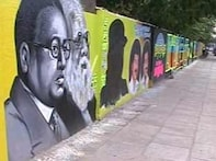 Graffiti gives way to colourful wall art in Chennai