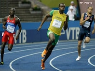 Usain bolts to another record, bags 200m gold