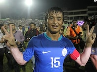 Bhaichung named Nehru Cup Player of the Tournament