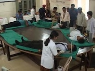 To sir with love: Students donate blood to honour principal