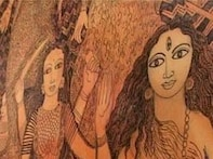 Jayasri's paintings all about art, God and glamour