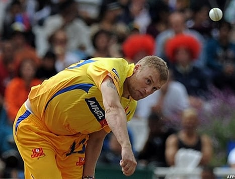 Flintoff fears his career may be over