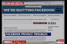 Facebook users on a quitting spree