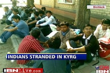 Indians still stranded in Kyrgyzstan capital