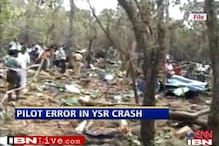 CBI blames pilot error for YSR helicopter crash