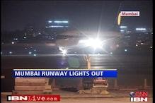 Mumbai airport blind, runway light not working