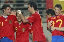 Spain goes for historic win in quarters