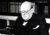 Churchill ordered cover-up of UFO sighting