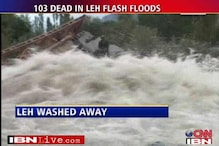 Over 100 killed in Leh flash floods, rescue on