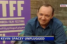Actor Kevin Spacey speaks on his new film 'Casino Jack'