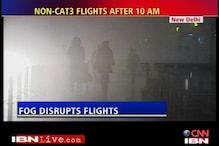 Passengers complain as fog delays flights