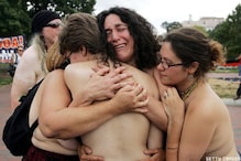 Pics: When protesters go naked