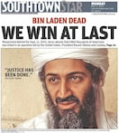 Hatelines: Front pages of US papers on Osama's death