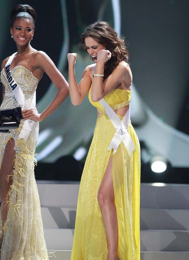 In pics: Angola\'s Leila Lopes crowned Miss Universe 2011 - Photogallery