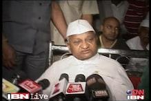 Anna Hazare reaches Delhi for treatment