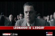 Leonardo Di Caprio is back in 'J Edgar'