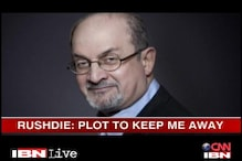 Rajasthan Govt made up the threat theory: Rushdie