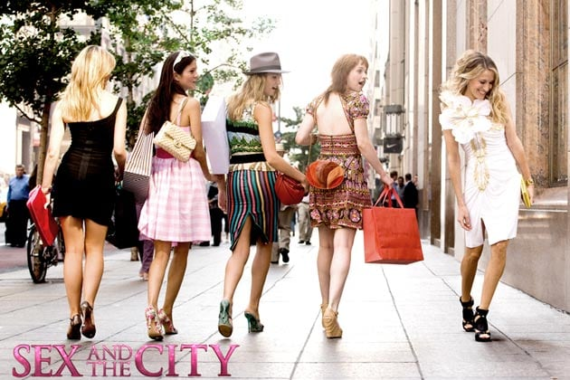 Girls from sex and the city something