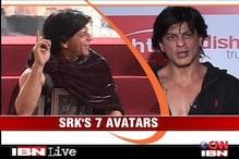 Shah Rukh Khan's seven avatars in 30 seconds