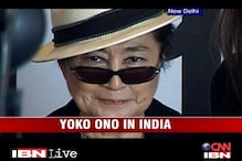 Yoko Ono in India for first ever exhibition