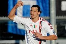 Ibrahimovic goal leads Milan to away win