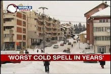 Europe under worst cold spell in years; 160 dead