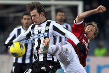 Milan move up to Serie A top after Udinese win