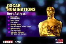 Oscars 2012: Nominees in the Best Actress category