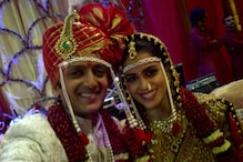 Newly-wed couple Riteish, Genelia in Visakhapatnam