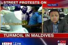 Maldives situation tense, former president alleges coup