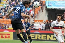 Milito's hat-trick helps Inter win a thriller