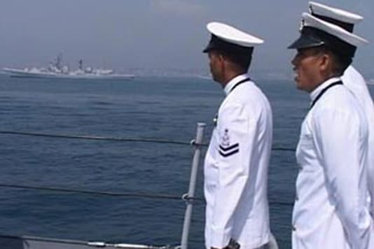 Naval exercise unaffected by tsunami threat