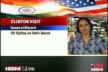 India may discuss Hafiz Saeed with Hillary Clinton