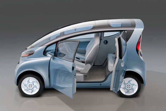 The Rs 10 Lakh Tata Emo Electric Car Photogallery